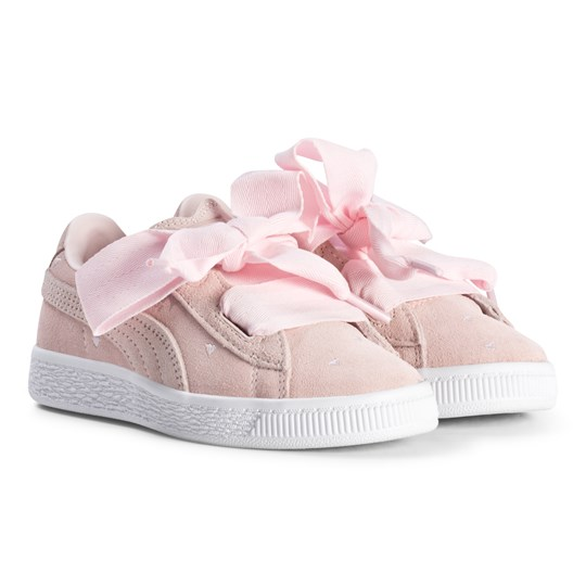 official photos 74799 278a0 Puma - Suede Heart Valentine Kids Sneakers Pearl - Babyshop.com