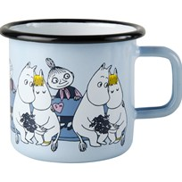 Muurla Mumin Friends Mugg Mumin & Lilla My 37 dl голубой