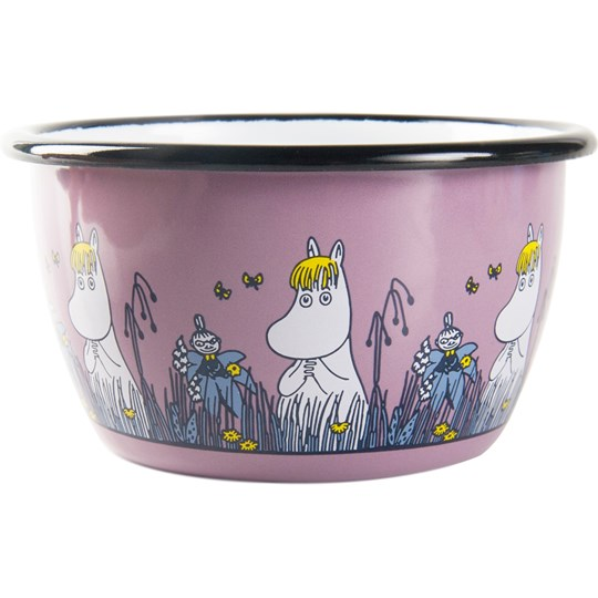 Muurla Moomin Friends Bowl - Snorkmaiden 300 ml Pink