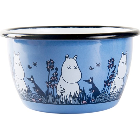 Muurla Moomin Friends Bowl - Moomin 300 ml Sininen