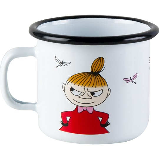 Muurla Moomin Mug - Little My 250 ml White