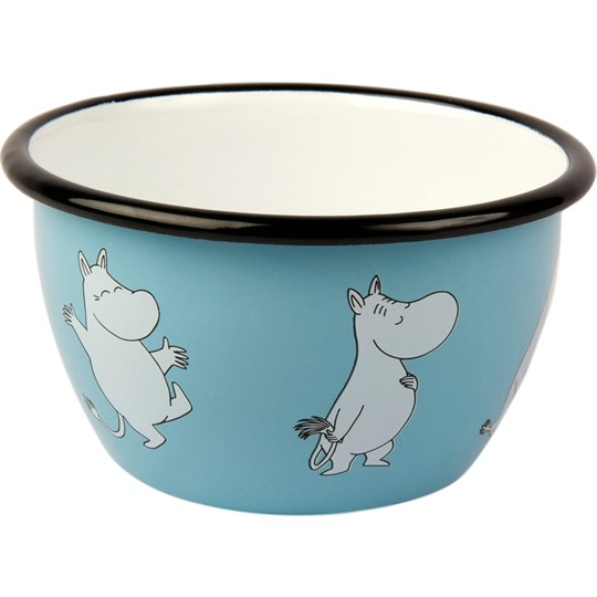 Muurla Moomin Bowl - Moomin 600 ml Blue