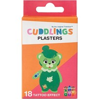 Cuddlings Cuddling Wound Patches with Tattoo Effect Multi