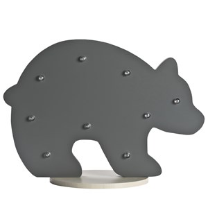 JOX Bear Table Light Black One Size