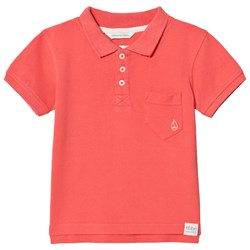 ebbe Kids Monday Polo Shirt Washed Coral