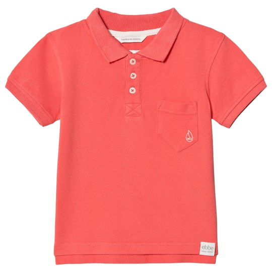 ebbe Kids Monday Polo Shirt Washed Coral Washed coral