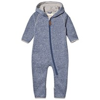 ebbe Kids Koi fleece suit Washed Navy Washed Navy
