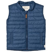 ebbe Kids Kim Quilted Gilet Blue Shades Blue shades