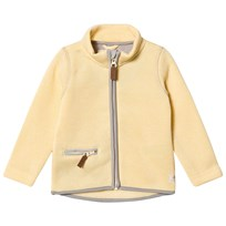 ebbe Kids Kalla Fleece Jacket Pale Banana Pale Banana