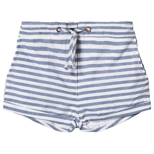 ebbe Kids Frances Shorts Navy Stripes Navy stripes