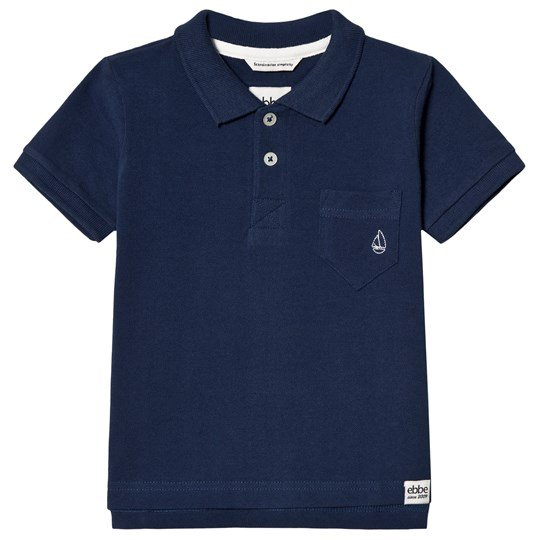 ebbe Kids Monday Polo Shirt Dark Ocean Blue Dark Ocean Blue