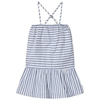 ebbe Kids Femmis Dress Navy Stripes Navy stripes