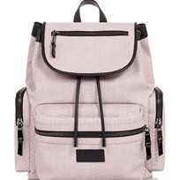 Tiba + Marl Light Pink Snake Kaspar Backpack PINK SNAKE