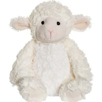 Teddykompaniet Softies Lilly Lamb Cream