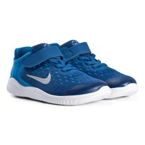 NIKE Blue Free Run 2018 Kids Shoe 401
