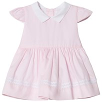 Livly Madison Dress Pink/white Pink/White