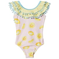 Livly Double Ruffled One-piece Lemonade Lemonade