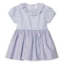 Livly Rosie Dress Blue Blocks Blue Blocks