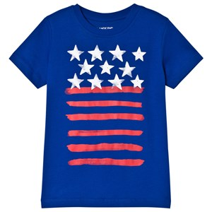 Image of Lands End Blue Flag T-shirt 4 years (3015413061)