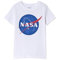 Lands End White Nasa Seal T-shirt NNI