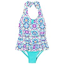 Lands End Multi Print Swimsuit 7IU