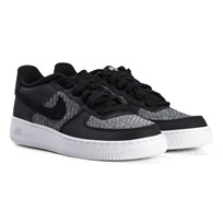 NIKE Black Air Force 1 Shoes 018