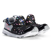 NIKE Dynamo Free Print Shoes Black Pink Beam 003