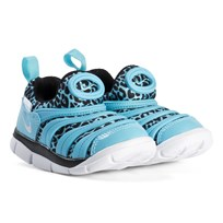 NIKE Dynamo Free Print Infants Shoes Blue Gale 402