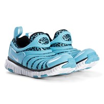 NIKE Dynamo Free Print Shoes Blue Gale 402