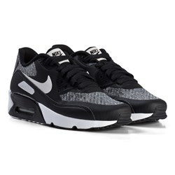 NIKE Air Max 90 Ultra 2.0 Shoes Black and Vast Grey
