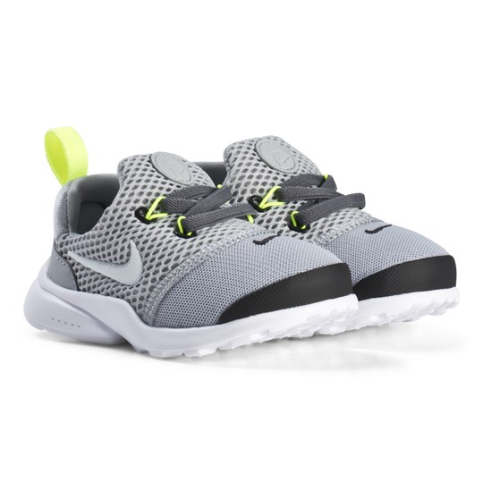 NIKE Wolf Grey Presto Fly Infant Shoes 009