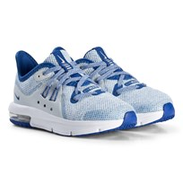 NIKE Game Royal Air Max Sequent Kids Shoes 401