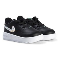 NIKE Force 1 '18 Print Infant Sneakers Svart 701