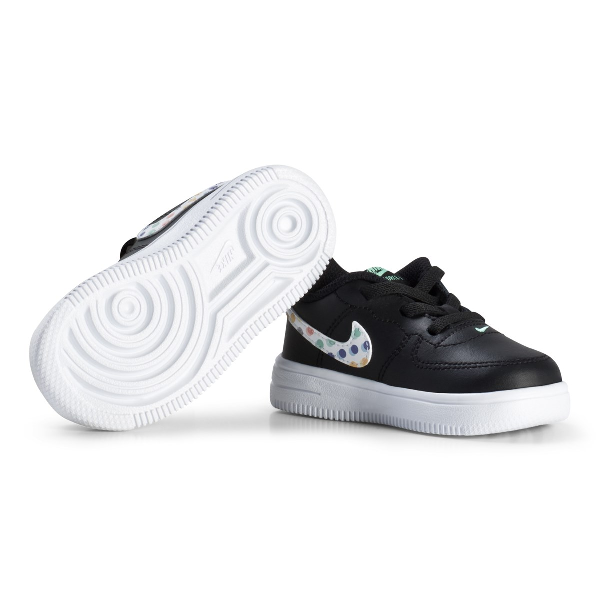 sports shoes 4766c 58cb0 NIKE - Force 1  18 Print Infant Sneakers Svart - Babyshop.com