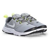NIKE Wolf Grey Presto Fly Shoes 009