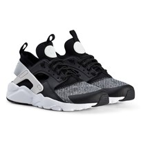 NIKE Black Nike Air Huarache Ultra Shoes 008