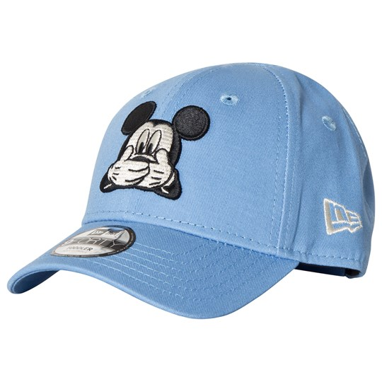 New Era Blue Mickey Mouse Print Cap Blue
