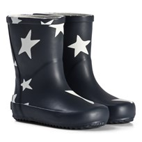 Ticket to heaven Stars Rubber Boots Total Eclipse total eclipse|blue