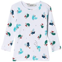 Anïve For The Minors Angel Print Long Sleeved T-Shirt Multi