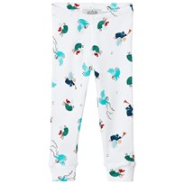 Anïve For The Minors White Angel Print Leggings Multi