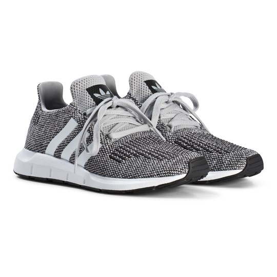 finest selection 9fa0d 8bfda adidas Originals Gray Swift Run Junior Sneakers GREY TWO F17 FTWR  WHITE FTWR WHITE