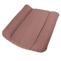 sebra Changing pillow, quilted, midnight plum Pinkki