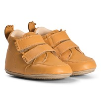 Easy Peasy Mustard Izi V Leather Pre Walker Shoes 78