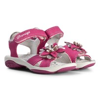 Primigi Pink Sandals with Flower Applique 13786