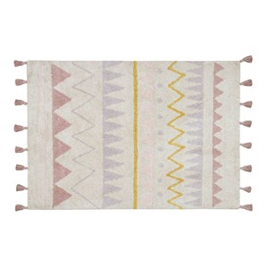 Image of Lorena Canals Azteca Natural Rug Vintage Nude 120 x 160 cm One Size (1102533)
