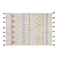 Lorena Canals Azteca Natural Rug Vintage Nude 120 x 160 cm environmentally friendly colors