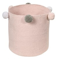 Lorena Canals Bubbly Basket Pink environmentally friendly colors