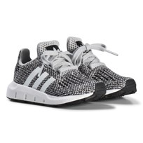 adidas Originals Grey Swift Run Infants Trainers GREY TWO F17/FTWR WHITE/FTWR WHITE