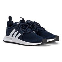 adidas Originals Navy X PLR Junior Trainers COLLEGIATE NAVY/FTWR WHITE/FTWR WHITE