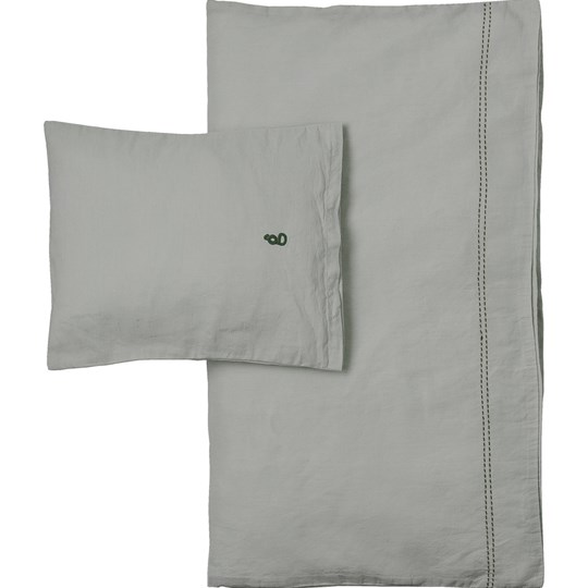 garbo&friends 100x130 Sage Linne Junior Bäddset SE sage green